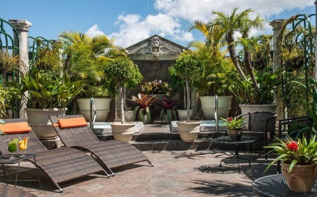 Hotel Grano de Oro San Jose Costa Rica terrace