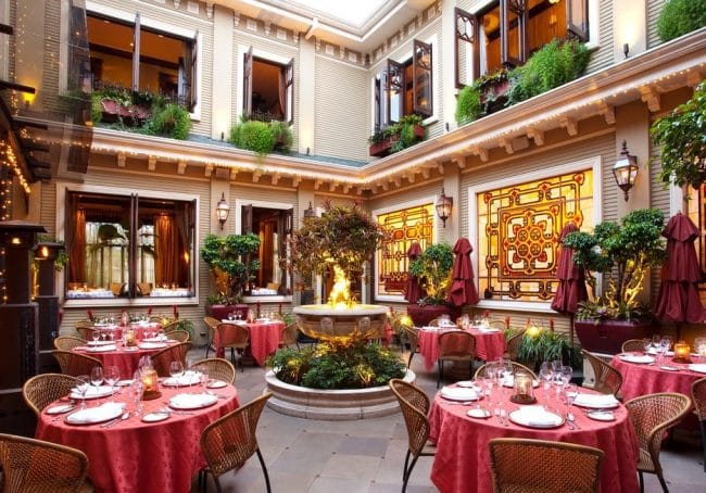 Hotel Grano de Oro San Jose restaurant