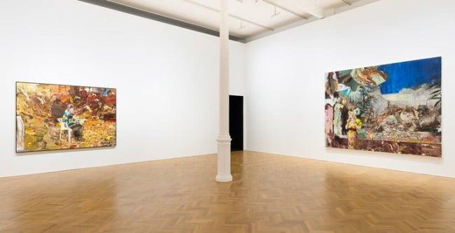 Adrian Ghenie at Pace London