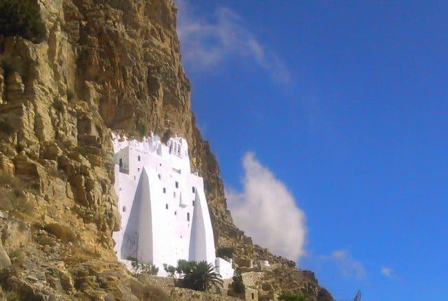Hozovissia Monastery Amorgos
