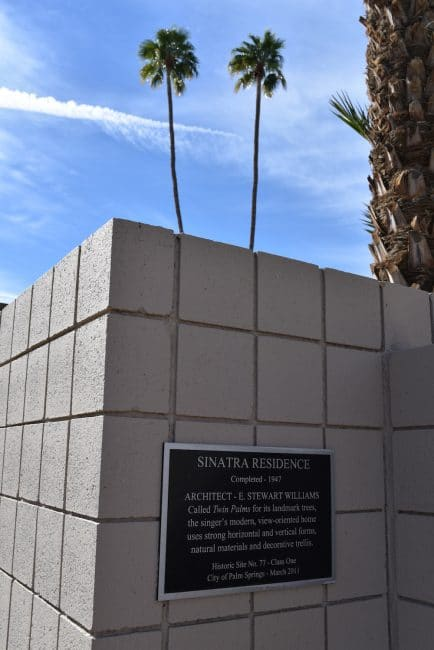 Frank Sinatra Twin Palms Estate Palm Springs Cellophaneland.com