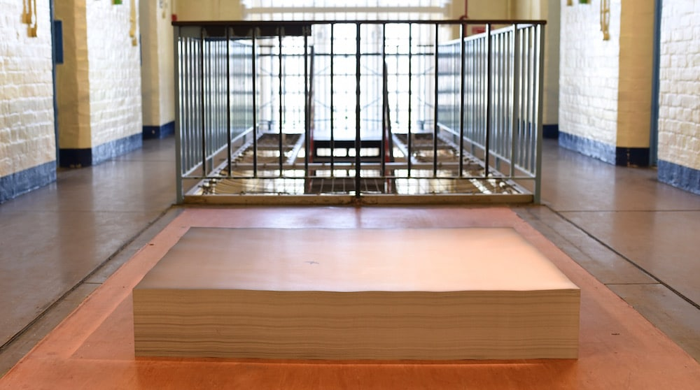 Felix Gonzales Torres Artangel National Trust Reading Prison Gaol