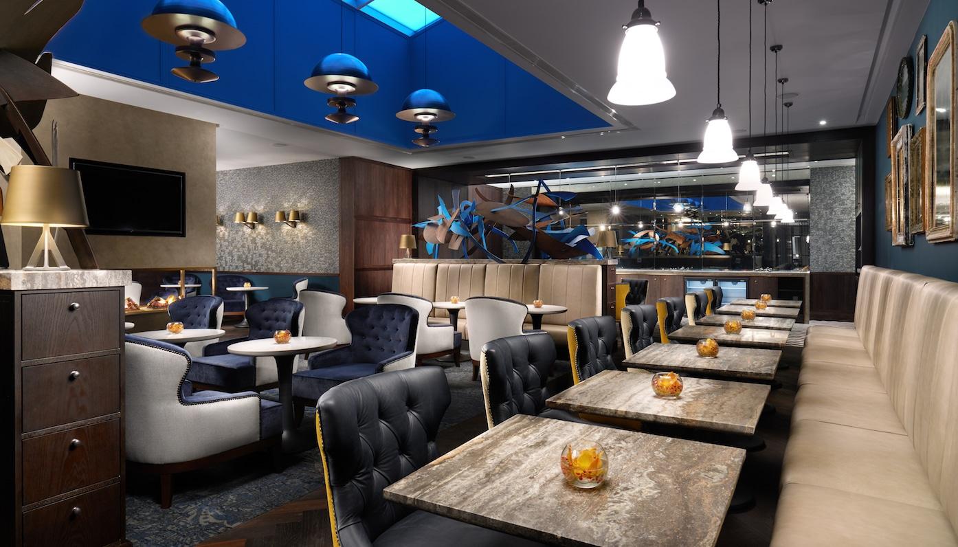 Executive_Lounge Hilton London Bankside Hotel