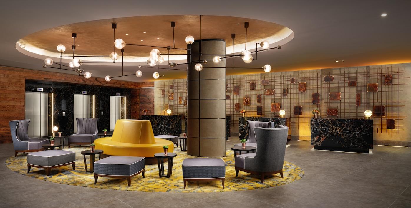 Hilton London Bankside Hotel Lobby