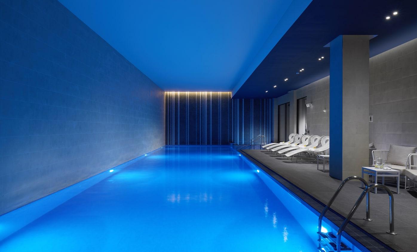 Hilton London Bankside Hotel OXBO Bankside Swimming Pool