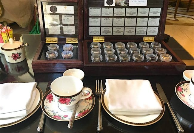 The Langham Hotel Boston Afternoon Tea with Wedgwood Review