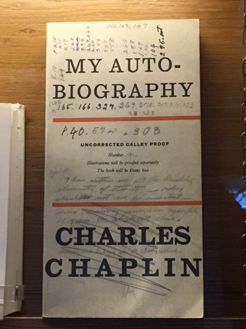 Charlie Chaplin's autobiography