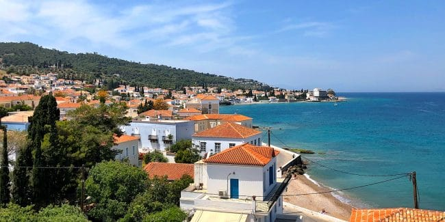 View of Spetses