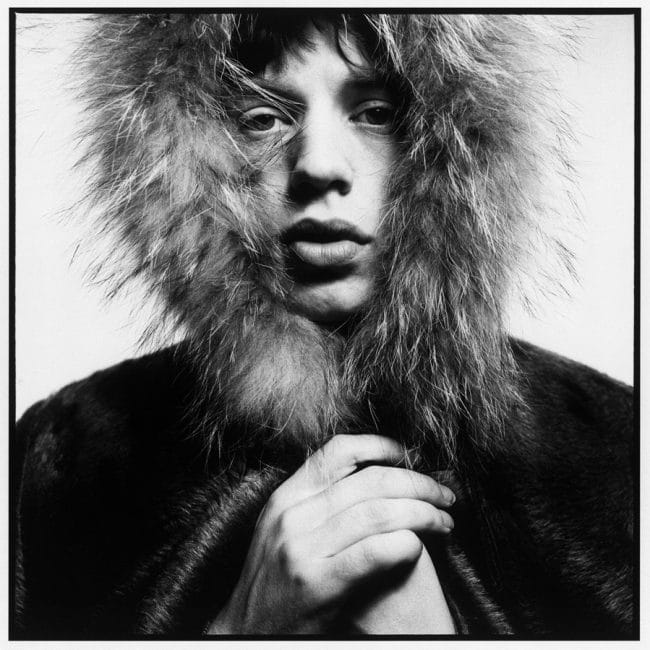 Mick Jagger by David Bailey, 1964 © David Bailey. Bailey's Stardust at the National portrait Gallery, London.