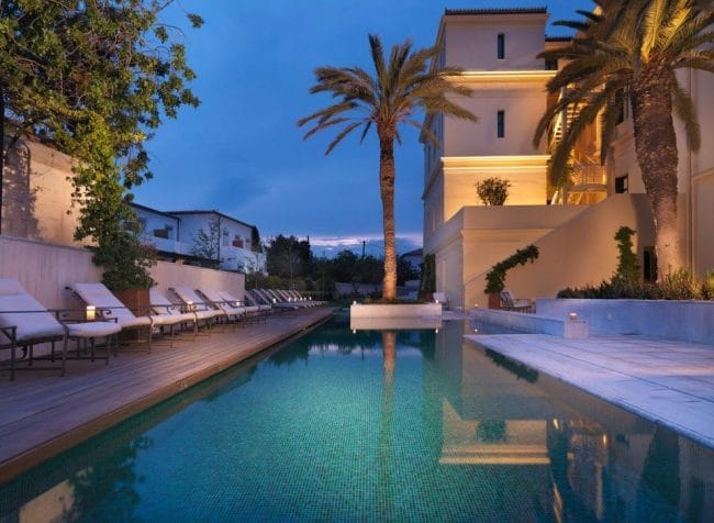 Poseidonion Grand Hotel Spetses swimming pool