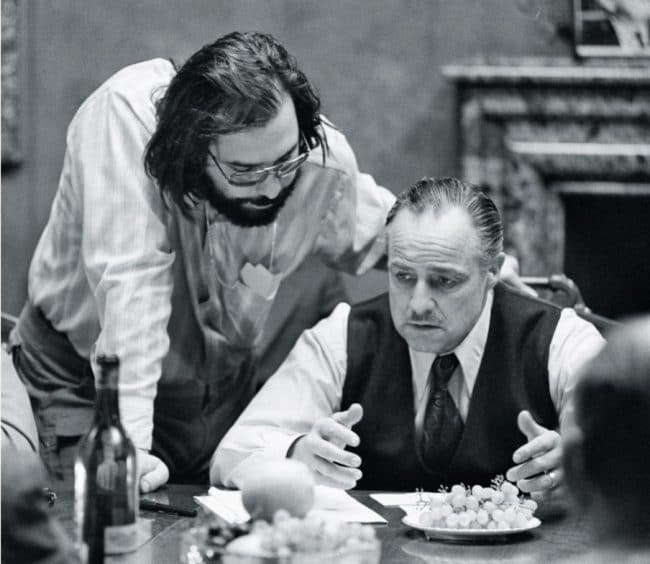 The Francis Ford Coppola Interview - with Marlon Brando on set