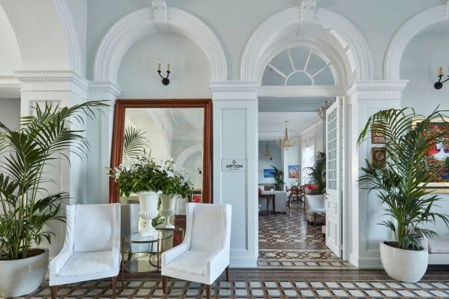 Poseidonion Grand Hotel lobby