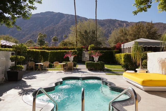 Best Cool Hotels Palm Springs Avalon Hotel Bungalow