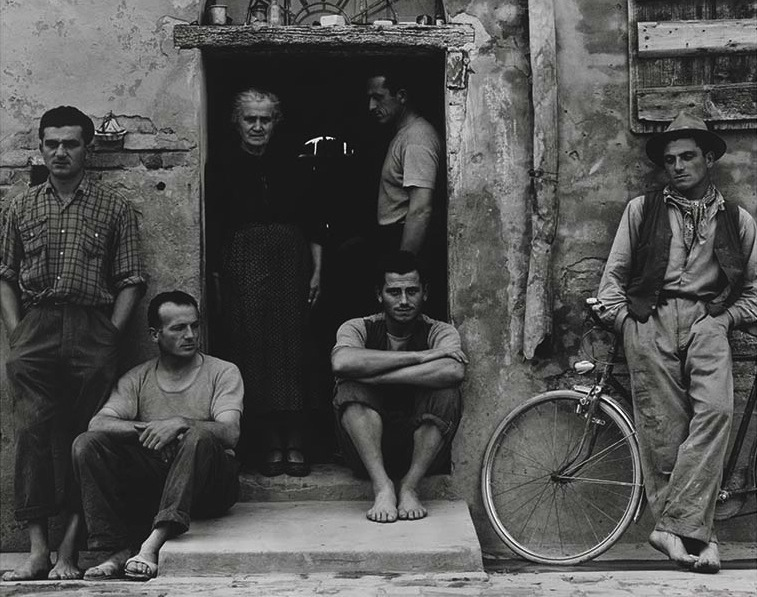The Family, Luzzara (The Lusettis), 1953, Paul Strand ©Paul Strand Archive, Aperture Foundation
