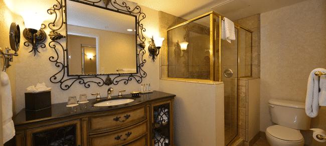 bathroom Zermatt Resort & Spa Park City Utah