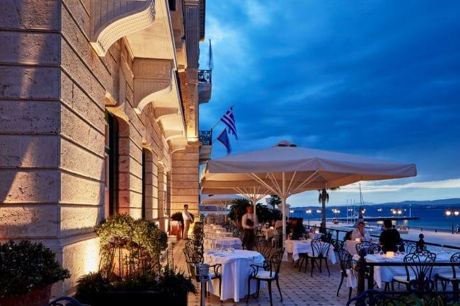 Poseidonion Hotel terrace