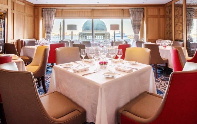 Boston Harbour Hotel Meritage restaurant