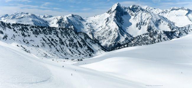St Lary ski pyrenees