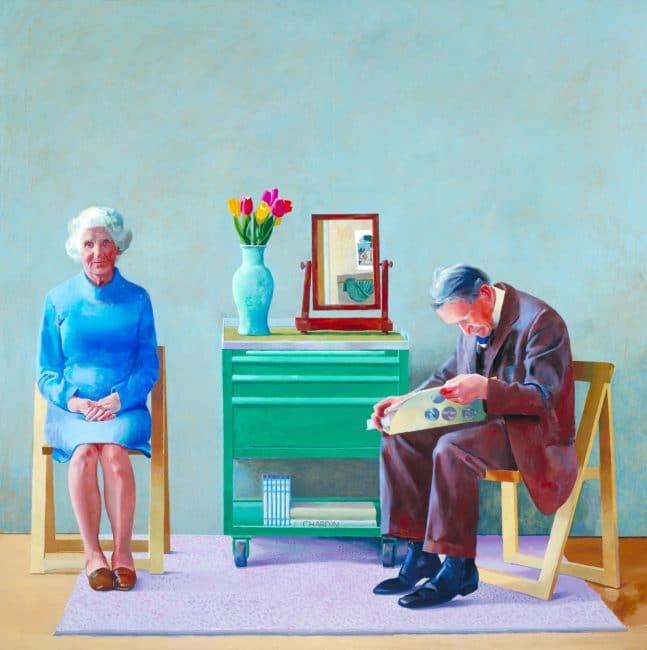 David Hockney Tate Britain My Parents