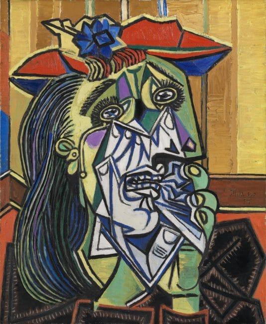 Dora Maar Picasso weeping woman