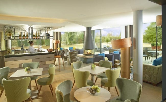 The Greenhouse spa lounge, House Spa at Dormy House Hotel - Broadway, The Cotswolds