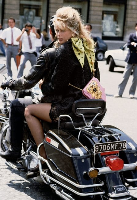 Claudia Schiffer in Paris by Herb Ritts, 1989 ©Herb Ritts Foundation/Trunk Archive Limelight Nights by Helmut Newton, 1973 ©