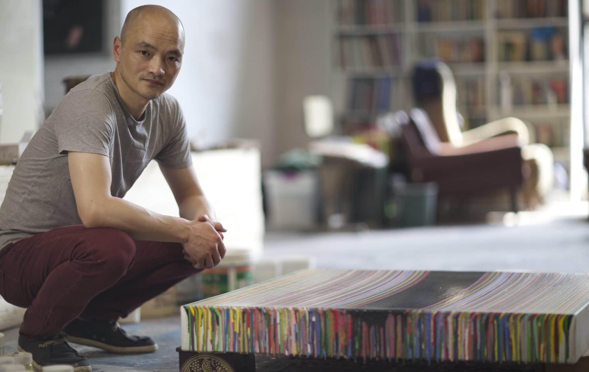 Wang Guangle by Zhang Fangled Yellow Pace Gallery London