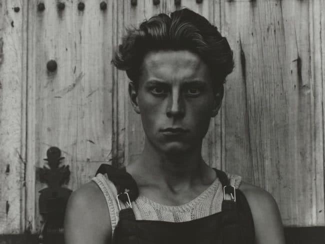 Young Boy, Gondeville, Charente, France, 1951, Paul Strand ©Paul Strand Archive, Aperture Foundation