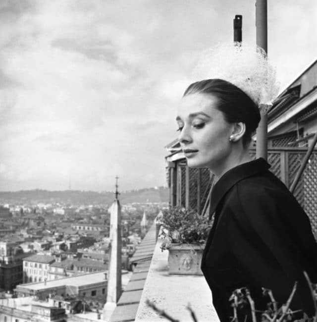 Audrey Hepburn by Cecil Beaton, 1960.in Rome