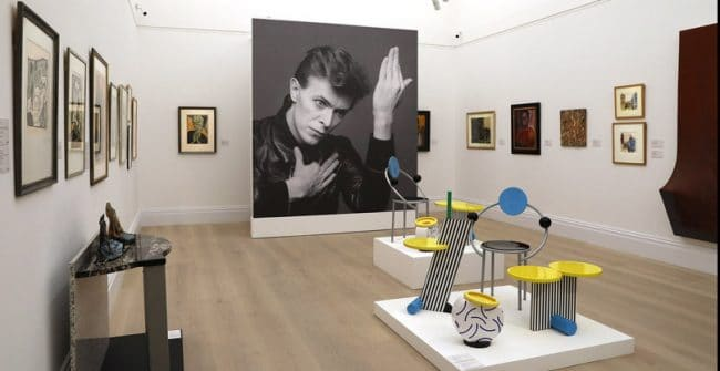 David Bowie Collector Sotheby's London