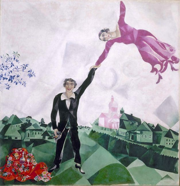 Marc Chagall Revolution Russian Art 1917 to 1932 Royal Academy London