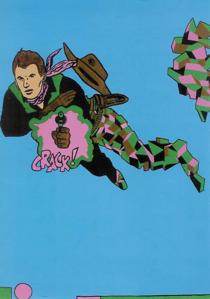 Cocaine Cowboy Derek Boshier ReThink-Re-Entry Cellophaneland