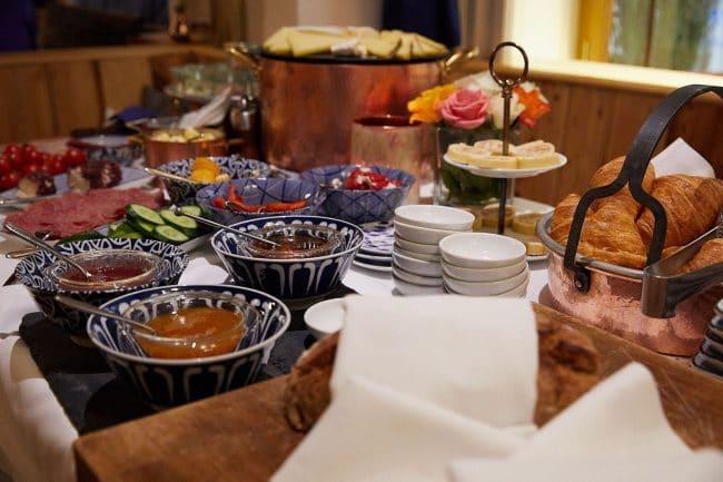 Hotel Goldgasse Salzburg Breakfast