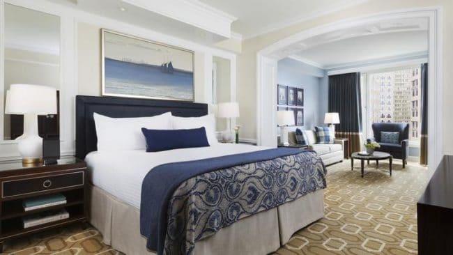 Boston Harbour Hotel Deluxe Room