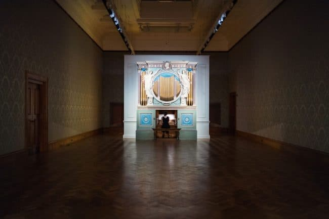 Ragnar Kjartansson Sky in a Room National Museum of Wales Cardiff Il cielo in uni stanza