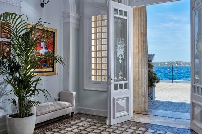 Poseidonion Grand Hotel Spetses lobby