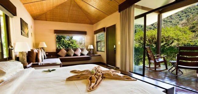 El Silencio Lodge bedrooms