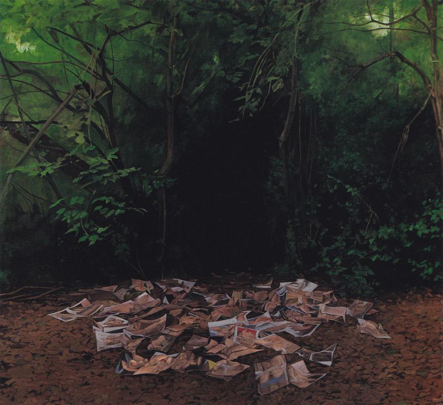 moct-ich-zurucke-wieder-wanken George Shaw My Back To Nature National Gallery
