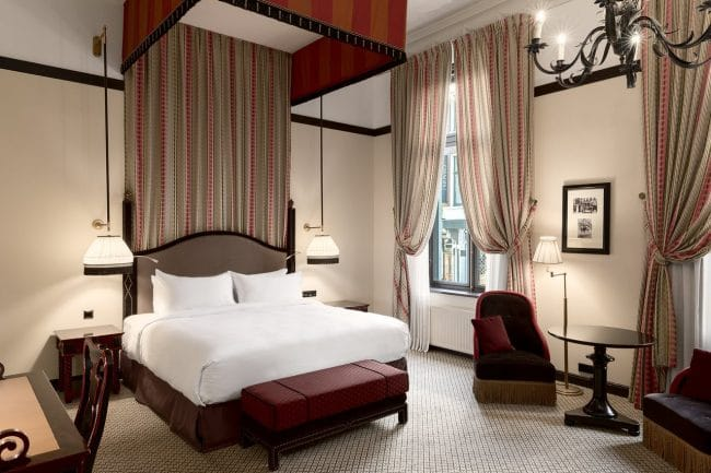 Hotel Des Indes The Hague Bedroom