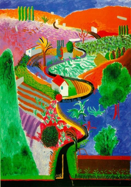 David Hockney Tate Britain Nichols Canyon