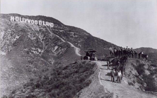 hollywoodland sign