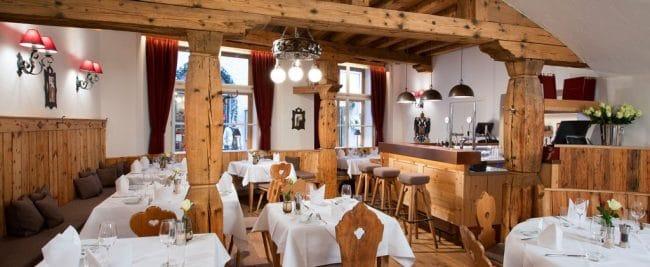 Hotel Goldgasse Salzburg Dining Room