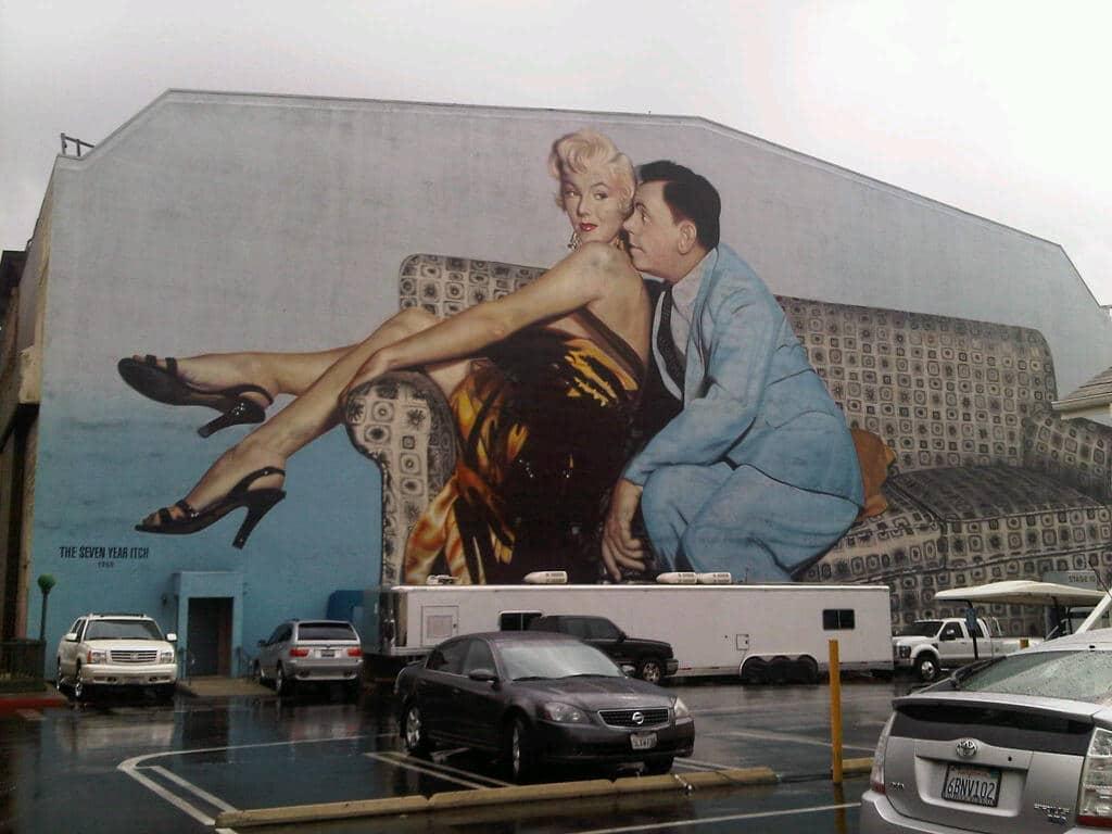 A Saunter around 20th Century Fox Studios - Los Angeles