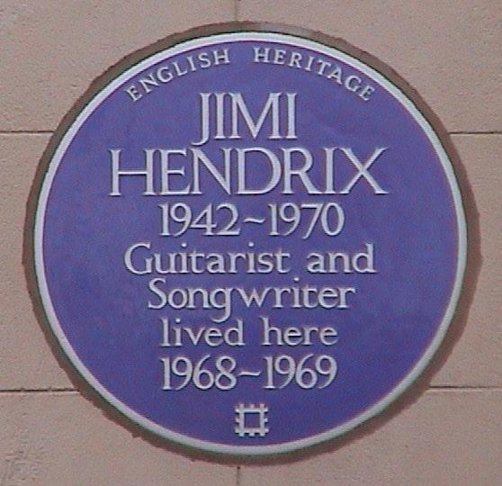 Jimi Hendrix House www.cellophaneland.com
