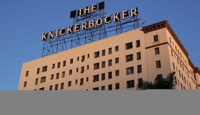 knickerbocker hotel LA Hollywood