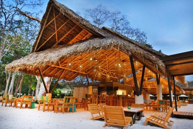 Restaurant Matiss Gulf of Papagayo, Costa Rica Cellophaneland Hotel Review