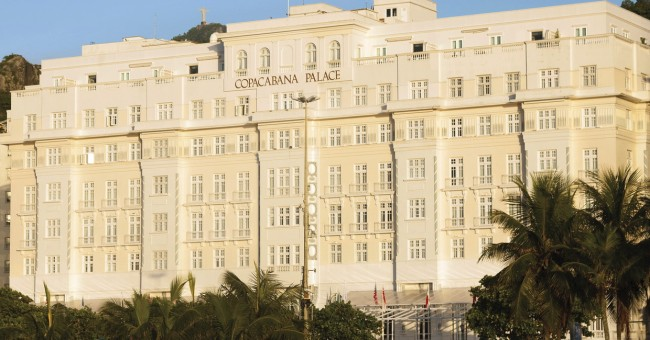 Copacabana Palace Rio de Janiero