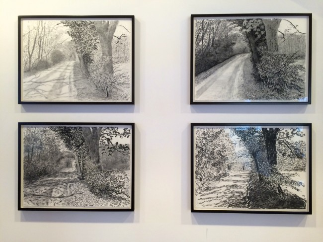 David Hockney The Arrival of Spring