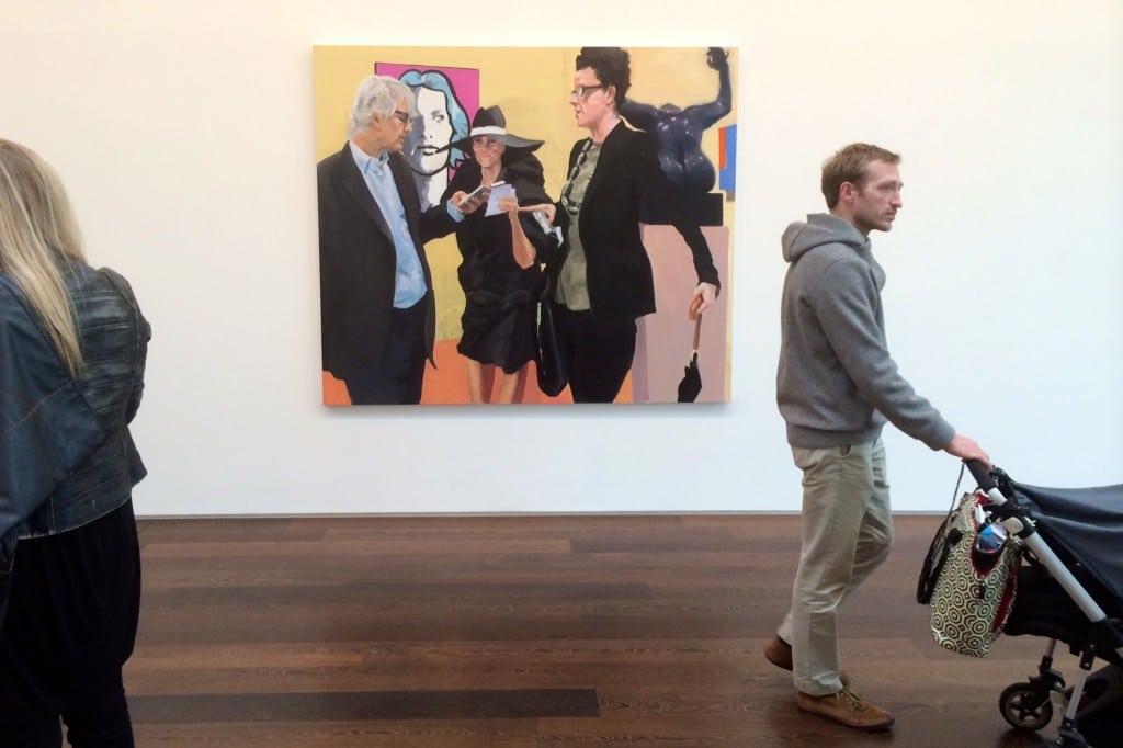 Eric Fischl Art Fair Paintings Victoria Miro