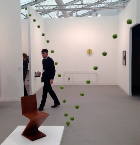 Frieze London by reviewed by www.cellophaneland.com